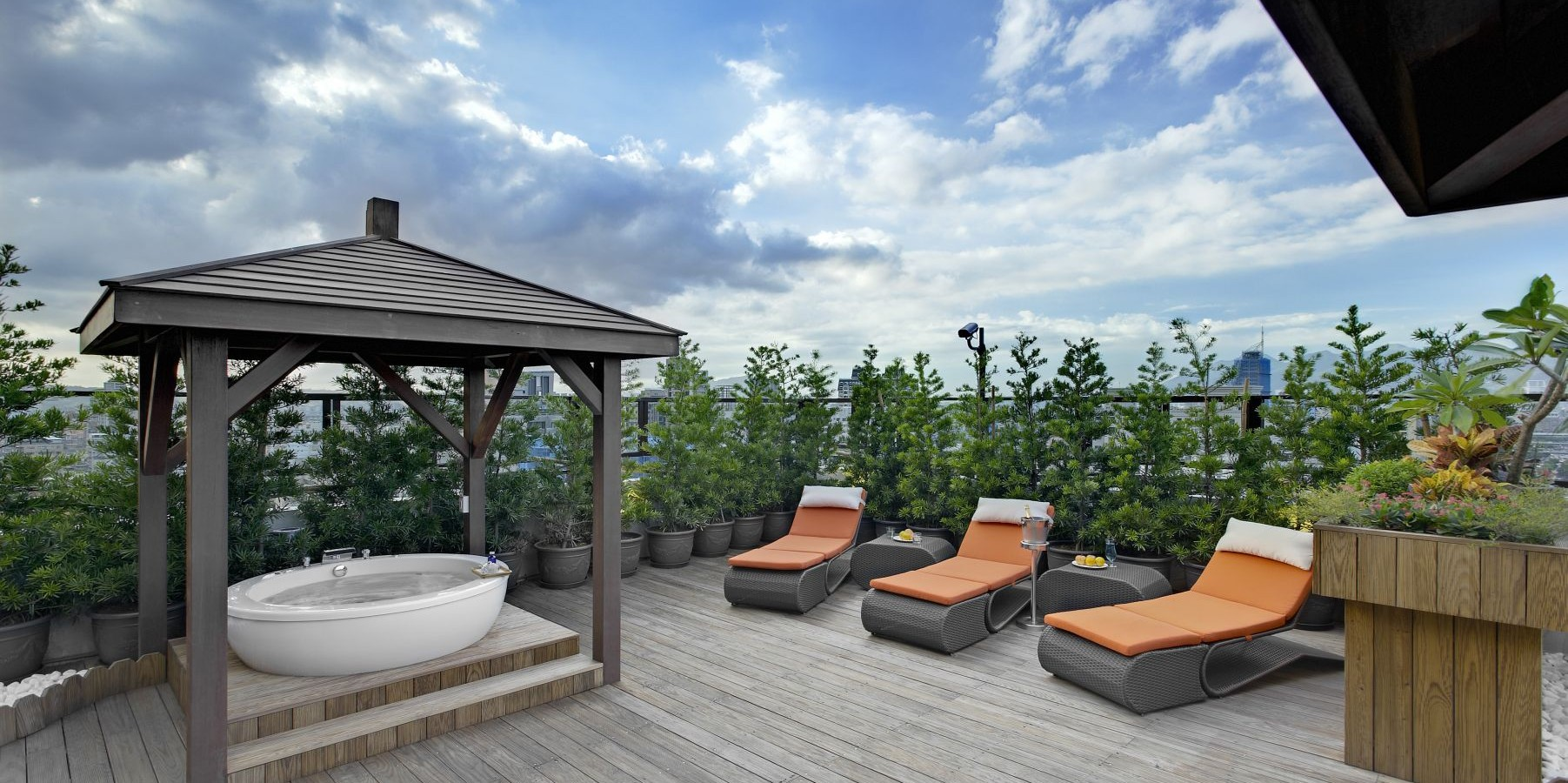 for House garden hotels by design