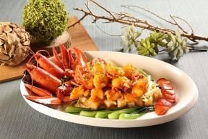 天成飯店集團-饗聚宴席 干醬焗波士頓龍蝦