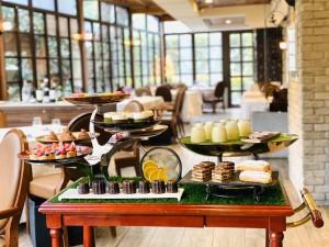 台北花園大酒店 PRIME ONE牛排館 桌邊服務甜點車 1