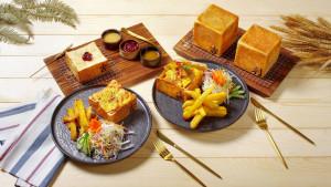 2020007 台北花園大酒店 花園 thai thai 生吐司系列料理
