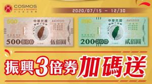 2020天成飯店集團振興卷BANNER