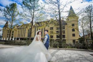 瑞穗天合國際觀光酒店 歐風城堡婚紗 (1)