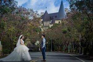 瑞穗天合國際觀光酒店 歐風城堡婚紗 (2)