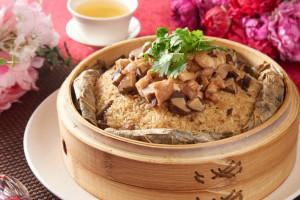 天成飯店集團 台北花園大酒店 -干貝荷香珍珠雞