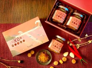 天成飯店集團 禮遇貴人年節伴手禮-手作黃金X.O.醬禮盒