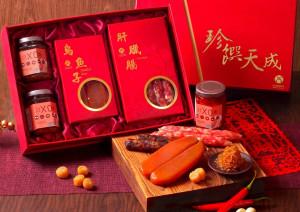 天成飯店集團 禮遇貴人年節禮盒-花團錦簇年節禮盒