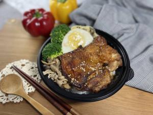 2021 天成飯店集團 星級美味便當 台北天成大飯店 鄉村雞腿排便當