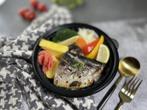 2021 天成飯店集團 星級美味便當 台北花園大酒店 乾煎食令鮮魚便當