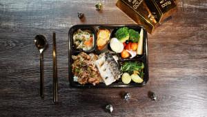 2021 天成飯店集團 星級美味便當 天成文旅華山町 主廚經典雙饗錦便當 蜜汁牛五花+乾煎日式鯖魚