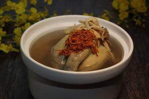天成飯店集團 翠庭-星級燉湯-蟲草菌菇燉雞湯600元