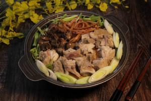 天成飯店集團 翠庭-星級燉湯-魷魚螺肉蒜 980元