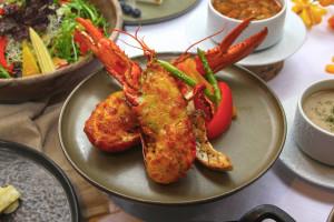 台北花園大酒店 牛排龍蝦饗時光 焗烤波士頓龍蝦